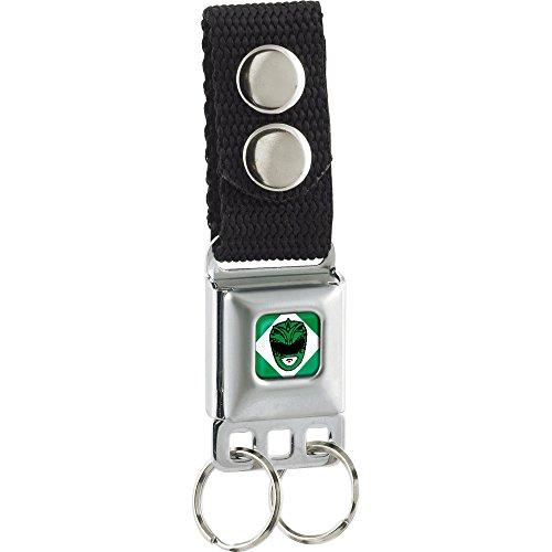 Power Rangers Green Ranger Buckle Keychain (Power Ranger Belt)