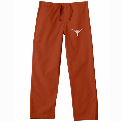 Texas Collegiate Scrub (Texas Longhorns Ncaa Classic Scrub Pant (Burnt Orange) (X Small))