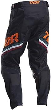 Taille 32 US Thor Pantalon Cross Adulte Pulse Pinner Noir//Vert