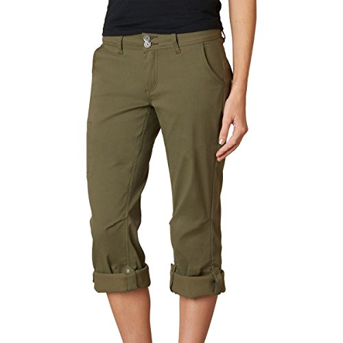 prAna Women's Short Inseam Halle Pant, 0, Cargo Green by prAna (Image #4)