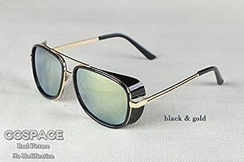 NSYJDSP Gafas de Sol Masculinas Gafas de Sol Retro Vintage ...