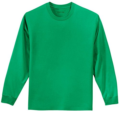 Joe's USA(tm) Youth Long Sleeve Cotton - Girls Plain Long Sleeve Tshirts
