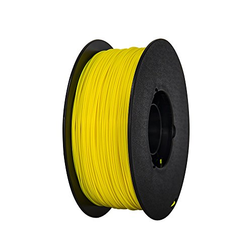 175mm-Yellow-ABS-3d-Printer-Filament-NW-1kg-Per-Spool-for-FlashForge-Creator-series