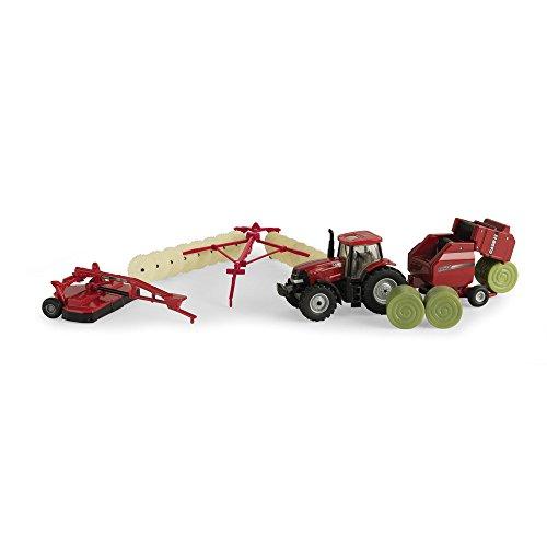 1:64 Case IH Haying Set (Hay Bale Tractor)