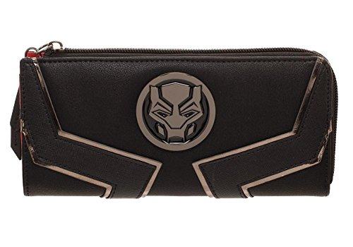 Black Panther Movie Zip Around Wallet (Coin Purse Superhero)