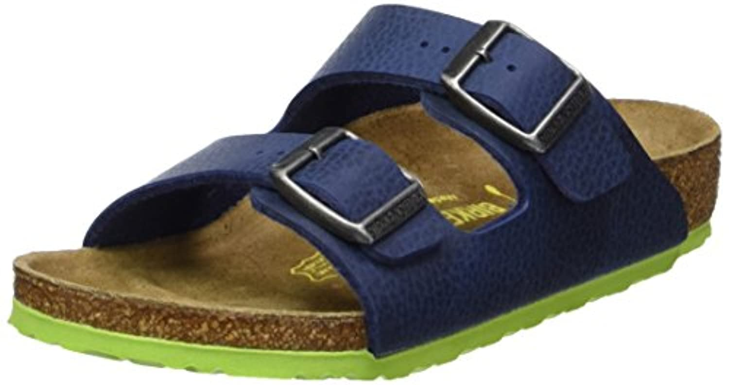 Birkenstock Unisex Kids' Arizona Mules, Blue (Nebula Blue), 8 Child UK