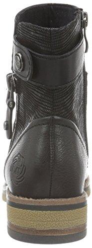 Negro comb Para Botines Ant 25485 Marco Mujer Tozzi black 096 wxH7wqX8