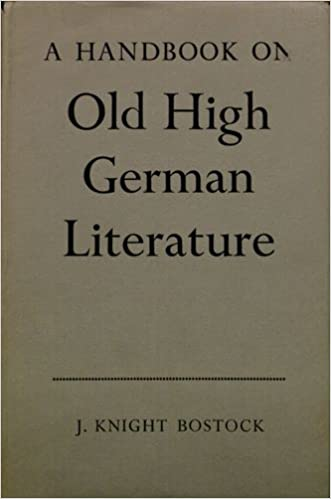 Download A Handbook on Old High German Literature PDF, azw (Kindle)