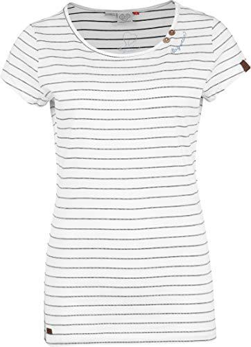 Ragwear T-Shirt Damen T-Shirt Mete 2011-10028 Weiss White 7000