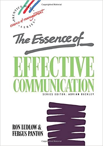 the essence of communication is