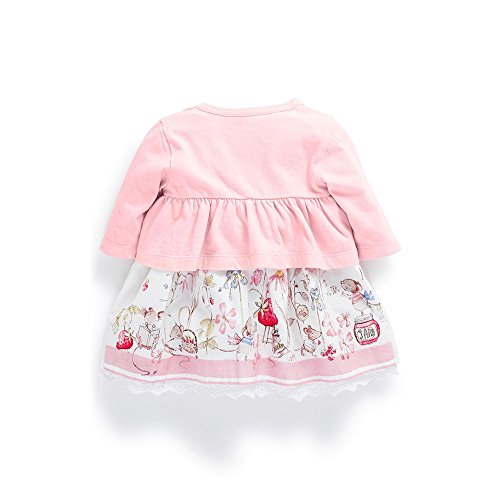 c0ceb7e34906 Amazon.com  Ferenyi s Baby Girl s Clothes Long-sleeved Jacket With ...