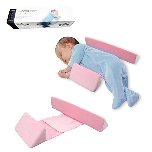 WeTest Premium Baby Sleep Pillow - Baby Bed Pillow Memory Foam Organic Cotton Removable Washable Fabric(Pink) from WeTest