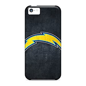 Protector Cell-phone Hard Covers For Apple Iphone 5c (vfc7180xTLw) Unique Design Attractive San Diego Chargers Skin