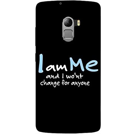 the latest 69f40 2979f Casotec Quotes Design Hard Back Case Cover for Lenovo: Amazon.in ...
