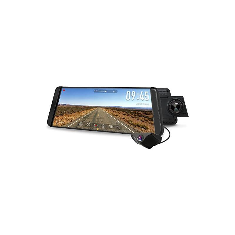 "AUTO-VOX X2 9.88"" Rear View Mirror Dash"
