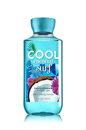 Bath and Body Works Cool Coconut Surf Shower Gel 10 Fl ()