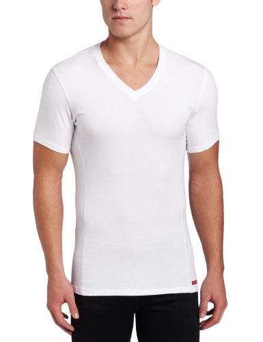 Calvin Klein Men's Prostretch Slim Fit V-Neck Tee