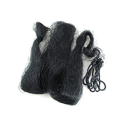 4 x 4cm Mesh Anti Bird Netting Black for Garden 2 Pcs