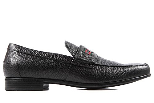 Gucci Mocasines en Piel Hombres Road Negro EU 43.5 295786 AHM30 1060: Amazon.es: Zapatos y complementos