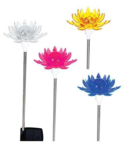 Solar Rotatng Lotus Flwr
