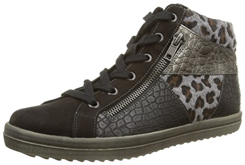 Remonte R6679 02, Damen Hohe Sneakers Schwarz (noir Combiné)