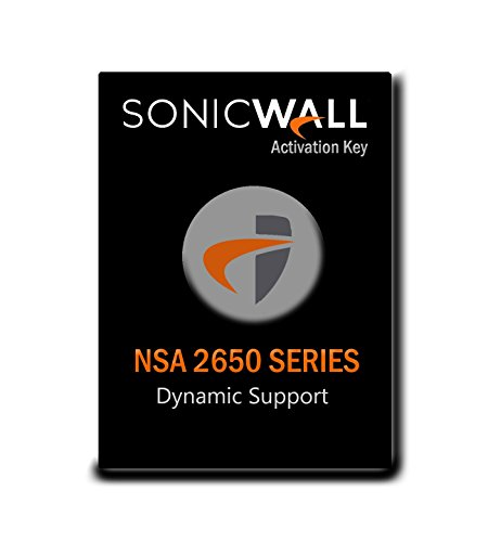 SonicWall | 01-SSC-1982 | Standard Support for SonicWall NSA 2650 - 1 Year License