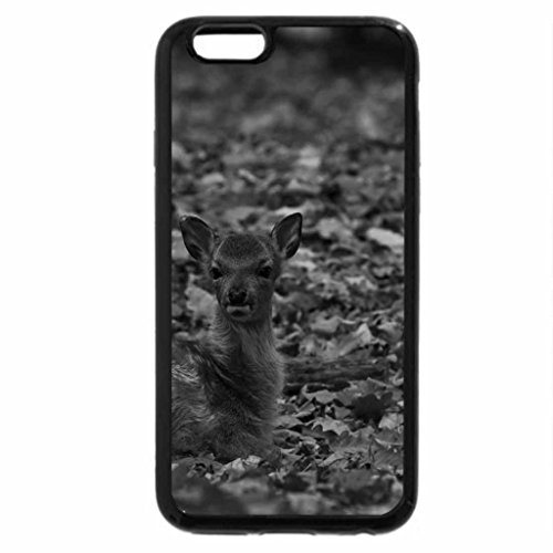 iPhone 6S Plus Case, iPhone 6 Plus Case (Black & White) - a litle fawn
