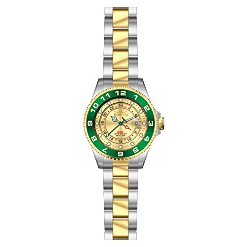 Invicta 18253 Womens Two Tone Stainless Steel Watch