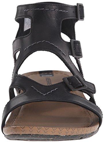 Merrell Kvinners Hviske Spenne Gladiator Sandal Sort