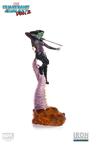 "41cb6oqrtsL Gamora ""Guardians of the Galaxy Vol. 2"" Iron Studios Battle Diorama Series 1/10"