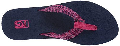 Teva Damen Mush II Flip-Flop Tiki Navy / Himbeere