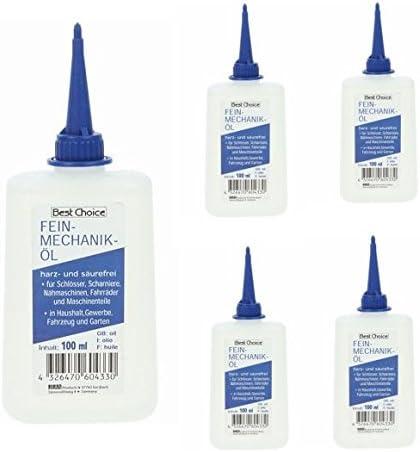 Aceite de Mecánica de Precisión Aceite para Máquina de Coser Aceite Doméstico 5 X 100ML Botella