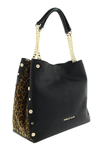 Versace-EE1VQBBM3-EMHX-BlackLeopard-Shoulder-Bag