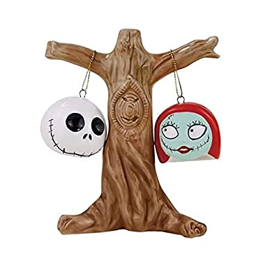 Eastwind Gifts 12010134 NBX Jack and Sally Heads Salt and Pepper Shakers by Eastwind Gifts