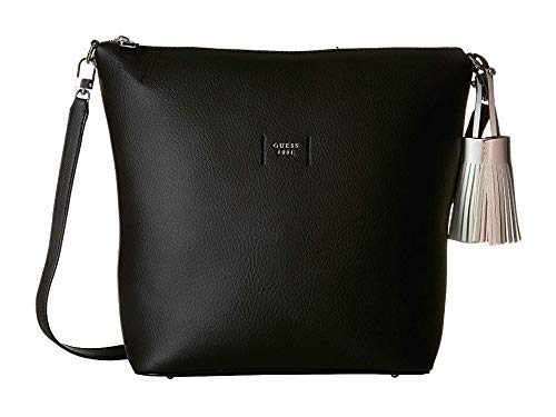GUESS Women's Trudy Hobo Black One Size (Guess Hobo Handbags)