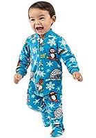 Footed Pajamas - Winter Wonderland Infant Fleece