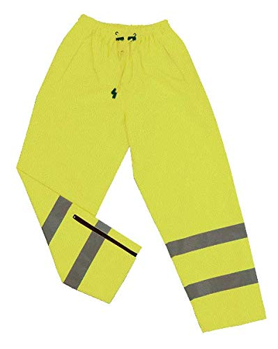 Lime44; Medium 2W 739C-E M Class E Waist Rain Pants