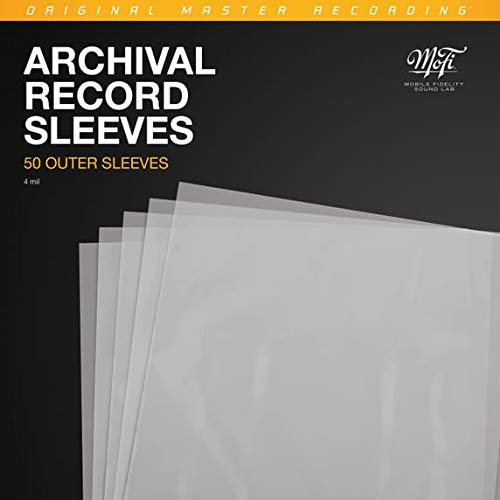Mobile Fidelity - Polyethylene Record Outer Sleeves (50pk) (Outer Sleeves Plastic)
