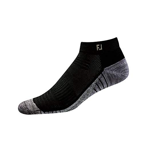 - FootJoy Men's TechSof Tour Sport Socks Black Size 7-12