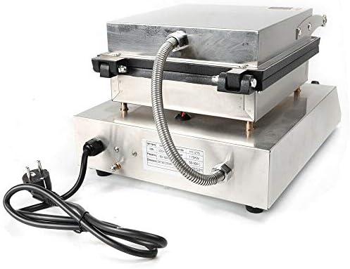 Gaufrier en forme de cœur 1750 W - En acier inoxydable - 50 ~ 300 °C - En forme de cœur - Avec minuterie pour une gaufre parfaite