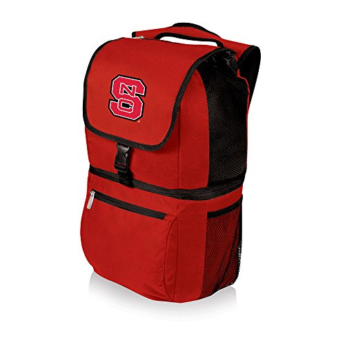 (NCAA North Carolina State Wolfpack Zuma Insulated Cooler Backpack, Red)