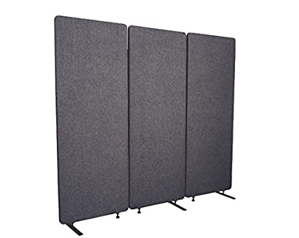 office partition dividers low cost office refocus acoustic room dividers office partitions reduce noise and visual distractions with these easy amazoncom