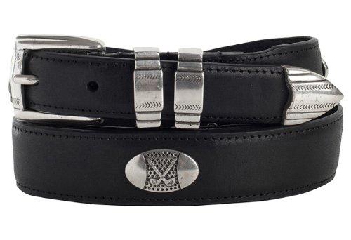 Golf Concho Belts (Danbury Oil Tanned Leather Concho Golf Belt 42)