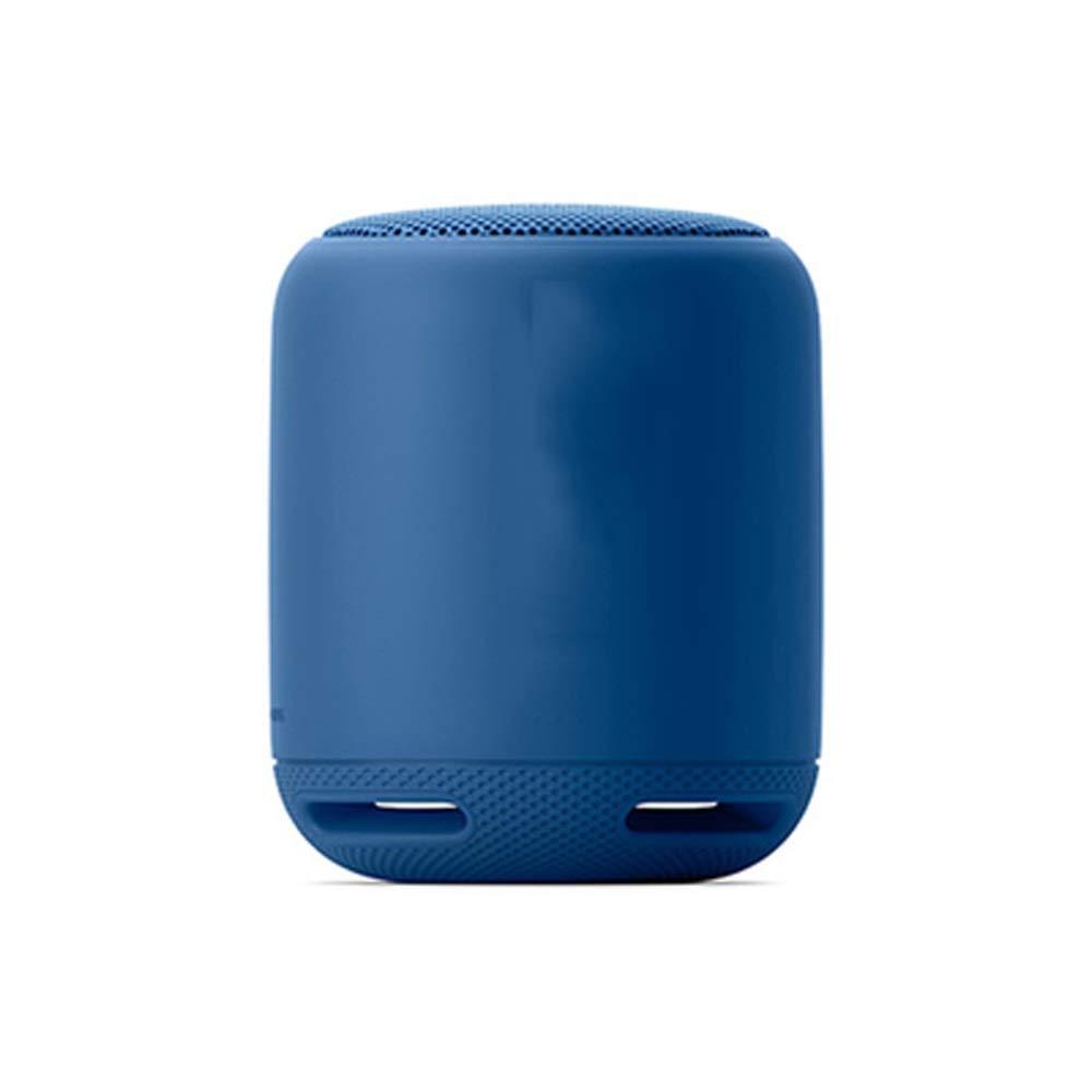 Tong 無線ブルートゥースのスピーカーのサブウーファーの屋外の外出の乗馬音楽のために適した屋外の小型小さい健全な防水 (色 : ブラック) B07QNY128P 青  青