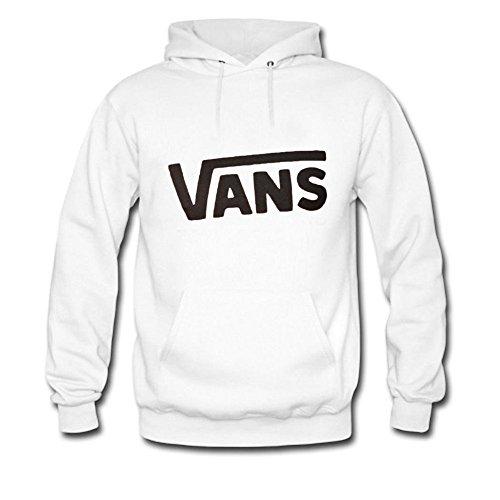 XZCDWFWomens Hoodies Vans classic logo White Size XXL ()