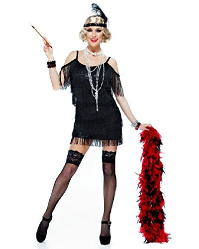 OvedcRay 1920S Roaring 20'S Adult Womens Dazzling Martini Flapper Gatsby Costume Dress