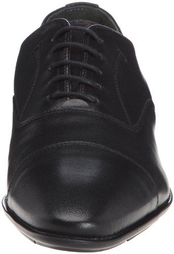 Azzaro Neraf - Zapatos de Cordones de cuero Hombre negro - negro