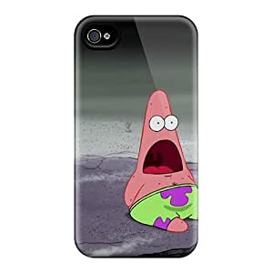 Top Quality Protection Patrick Star Case Cover For Iphone 4/4s