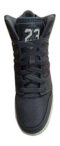 Nike Mtlc Gold-Black, Zapatillas de Baloncesto para Niños dark grey pure platinum black 002