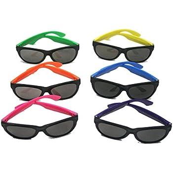 Amazon.com: Fun Express Child Neon Sunglasses, 6 assorted